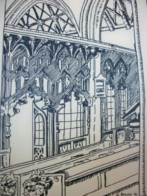 Interior St Mary's Church, Totnes