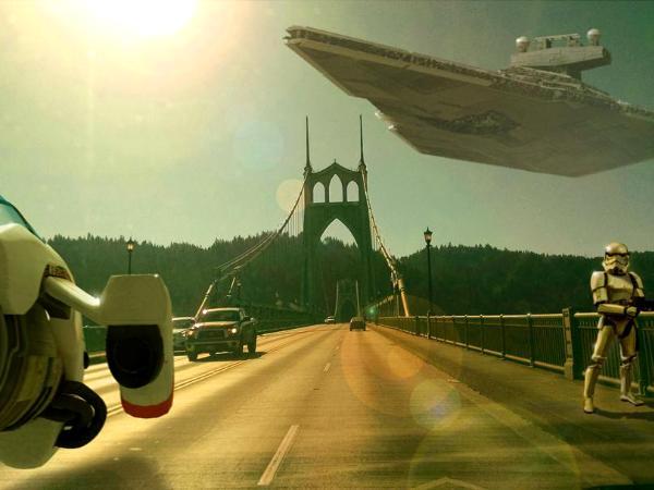 Incident on the St. Johns Bridge