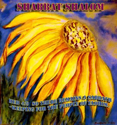Shabbat Shalom ~ Hebr. 4:9