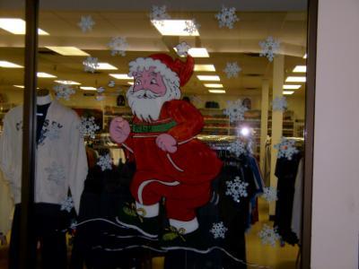 Santa jogging