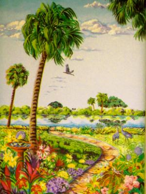 Mural on Lanai Commission