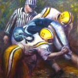 The One Yard Line Stop - SOLD