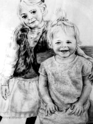 Portrait of Two Sisters