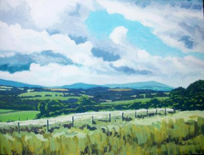 View of North Dartmoor