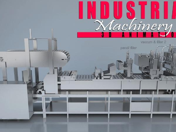 Latest Industrial 3D Product Animation Video By 3D Product Model