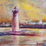 New England Lighthouse - SOLD