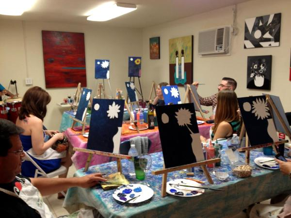 BYOB Paint Party, Paint Class