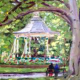 Sunshine and Rain, Swindon Old Town Gardens