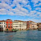 Curve on the Grand Canal, Venice