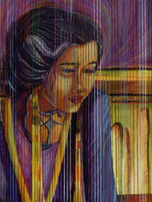 """Lost in a Memory""-Colored Pencils"