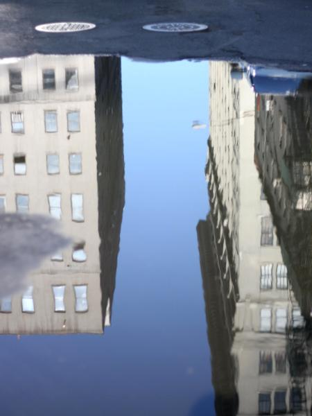 Reflections in DUMBO