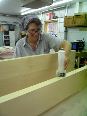 Glueing Boards