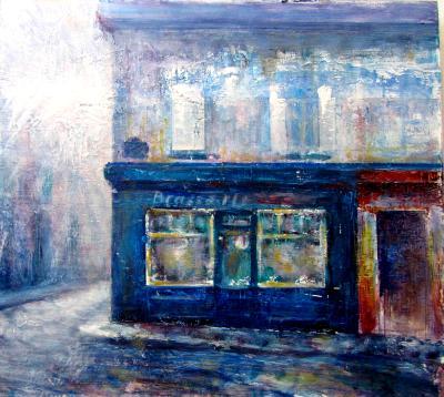 Corner Restaurant in Montmartre(Paris)