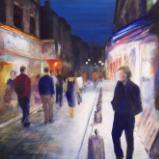 Nighttime in Montmartre - SOLD
