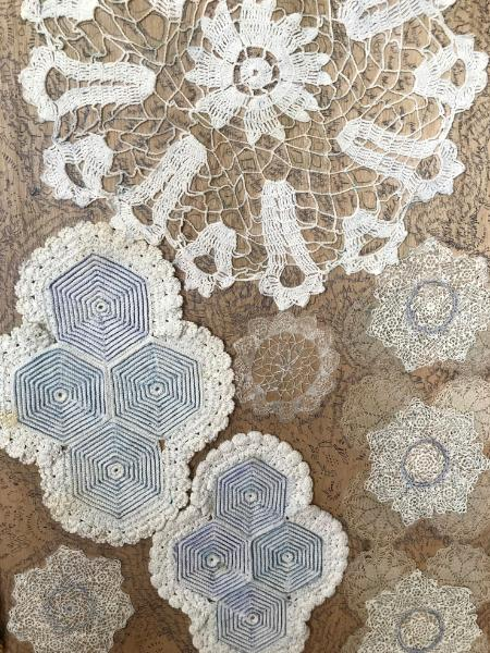 Detail: As Delicate As Tatting and Crochet