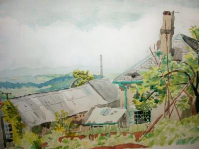 Windmill Hill farm, near Totnes, Devon