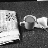 Coffee and Crossword Puzzle (Albany NY)