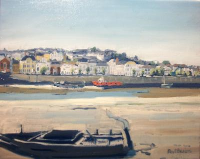 View of Bideford from East-the-Water