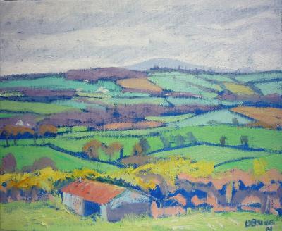Rural view near Lapford