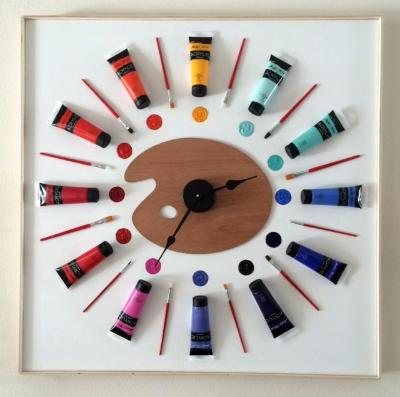 Paint Time Clock