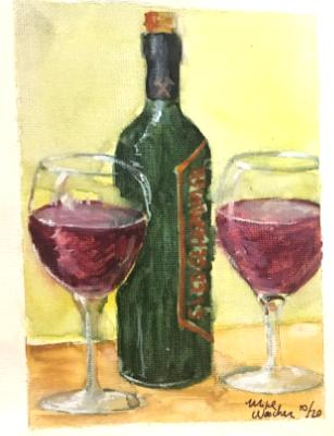Wine lesson at Centifonis