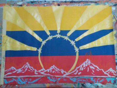 Modified Venezuelan Flag