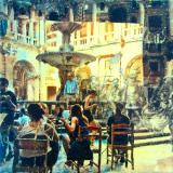 Principal Cloister, Zezere musicans, Act 5 (Marriage of Figaro), Convento de Cristo, Tomar