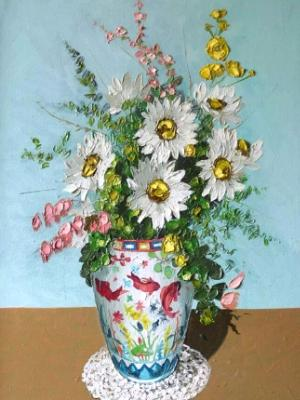 Flowers from China, 60cm x 40cm, 2013