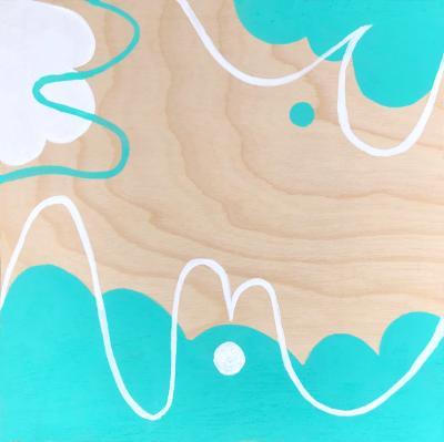 Untitled (Turquoise)