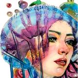 Octogirl - Watercolour & Digital