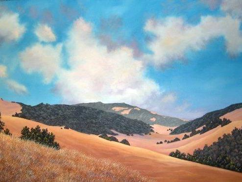 Catherine McClure Lindberg         Landscape Artist, Oil Painter
