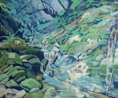 An Exmoor stream (the river Avil)