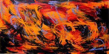 Gwen Tooth - Independent visual artist specializing in approaches to abstraction using acrylics