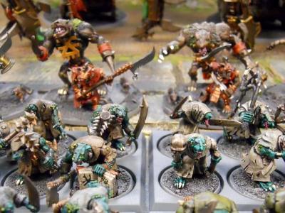 Plaguebearers & Juggernauts of Khorne