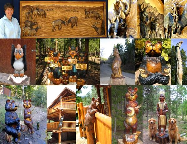 Roni Art Wood Sculpture