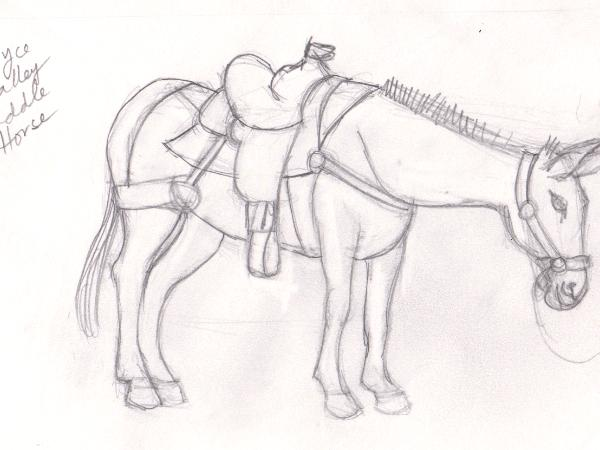 Bryce Canyon Saddle Horse