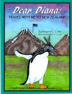 Book Cover - DEAR DIANA: TRAVEL WITH ME TO NEW ZEALAND