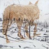 Coyote / Burnt Trees (Yellowstone series)