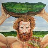 Finn McCool Hurls the Isle of Man