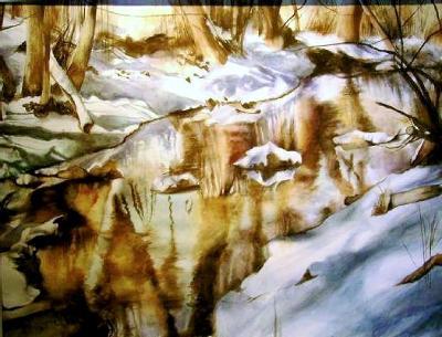 Boulder Creek in Winter
