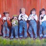 Skagit Boys and Pups ~ 1933
