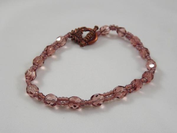 B-28 rose line bracelet