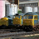Locomotives at London, Kings Cross 1977