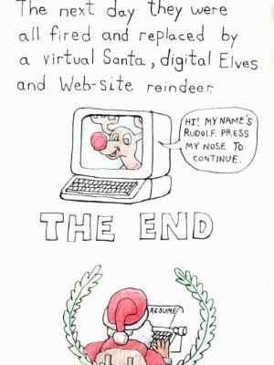 Santa Gets Replaced- Back