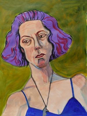 Lorraine, Purple Hair