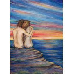 Oceans Lovers original painting