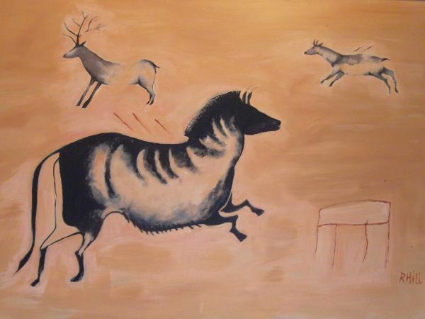 Stag, Doe & Paleo Horse