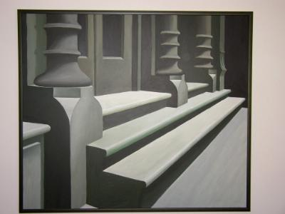 """Stoop on Wooster St  30"""" x 40"""""""