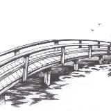 Pen and Ink Bridge