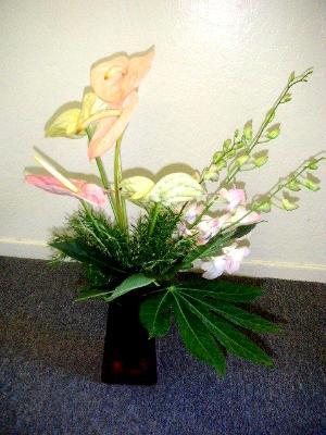 Ikebana arrangement